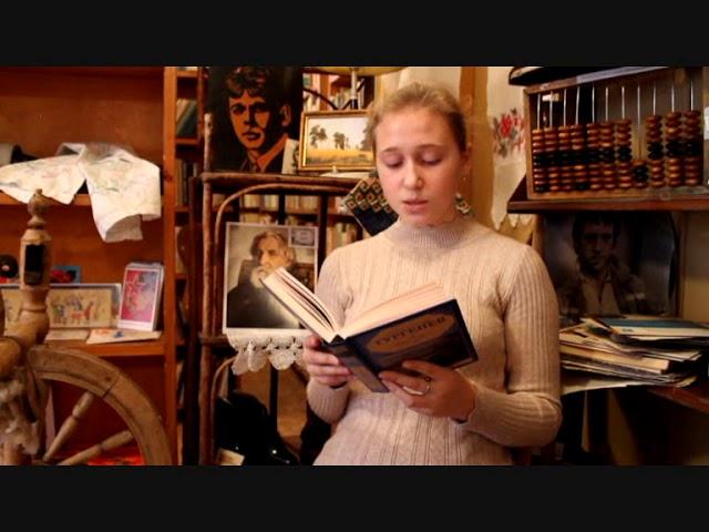 Изображение предпросмотра прочтения – ЕкатеринаМельник читает отрывок изпроизведения «Ася» И.С.Тургенева