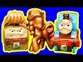 Thomas The Tank Rumbling Gold Mine Diesel 10 & Toby Golden Play Doh Toy Story