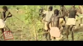 Afrika yerlilerinin vahşi av taktiği +18