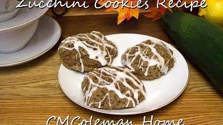 Zucchini Cookies Video Recipe