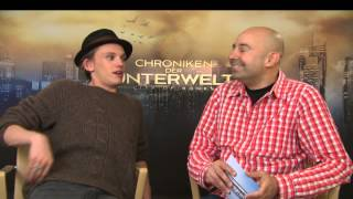Jamie Campbell Bower - Interview - City of Bones - City of Ashes
