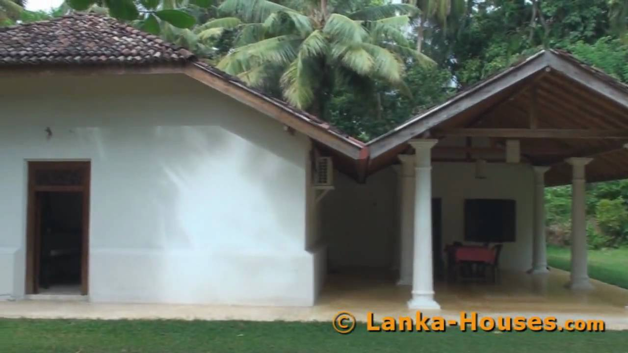 Antique House For Sale In Sri Lanka Koggala Youtube