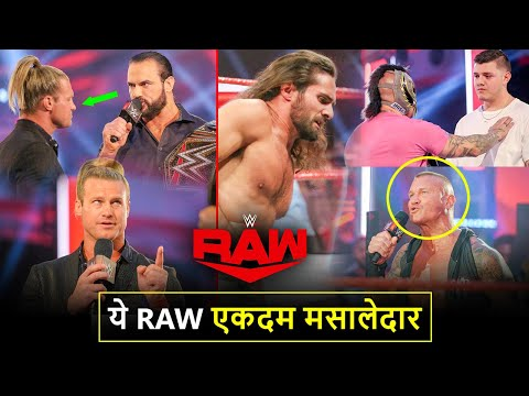 Sach Me Kamaal RAW🔥 Ziggler CHALLENGES* McIntyre, Seth Destroyed, Orton/Big Show WWE Raw Highlights