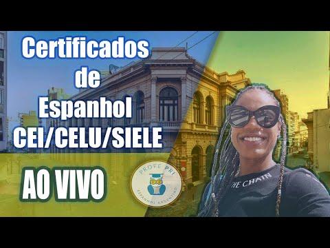 Certificados de Espanhol - CEI/CELU/SIELE - o que cai nas provas?