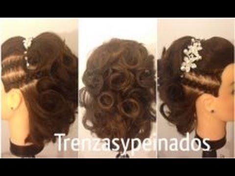 Recogido Para Pelo Corto Updo For Short Hair Youtube