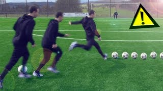 How To Shoot Like Pirlo, Ronaldinho & Özil | Curve Ball Free Kick Tutorial | freekickerz