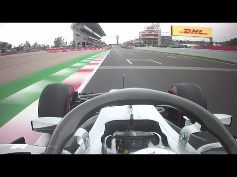 Lewis Hamilton's Pole Lap | 2018 Spanish Grand Prix