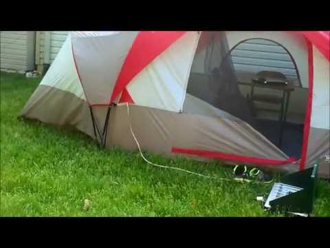 117 & Wenzel tent review - YouTube