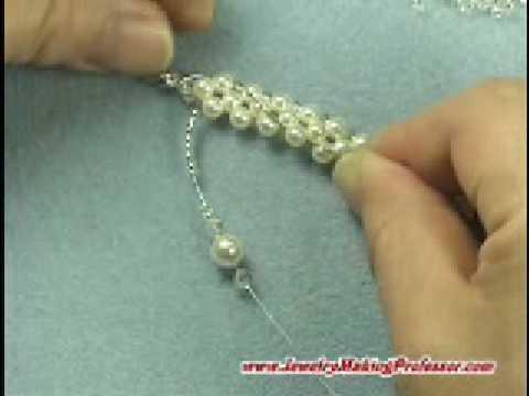 Bead Jewelry Making Video Classic Pearl Choker Youtube