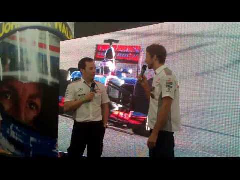Brazilian GP - Jenson Button talks about Magnussen and 2014