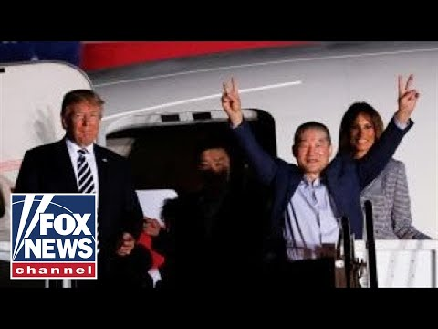 Freed North Korean Prisoners Arrive At Joint Base Andrews