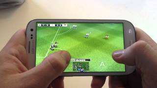 PES 2012 Gameplay Samsung Galaxy S3 (HD 1080p)