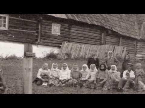 Traditional folk song from Moravian Wallachia