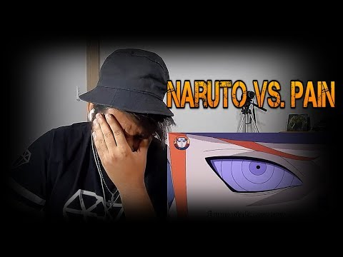 REACT | Naruto VS. Pain | Duelo Narrado - BlackSagaro