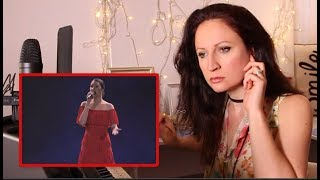 Gambar cover Vocal Coach REACTS to LOREN ALLRED-NEVER ENOUGH-live performance