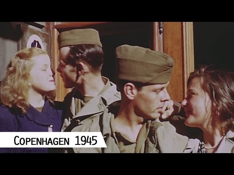 Copenhagen 1945 (in color and HD)