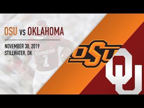 OU Highlights Vs Oklahoma State (11/30/2019)