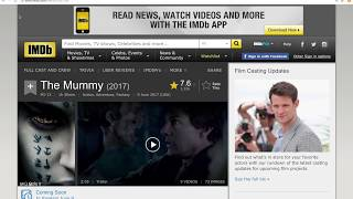 The Mummy (2017) - FuLL Movie English [ Download Torrent ]