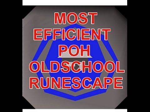 Most Efficient Poh House Set Up For Hosting Osrs After Updates
