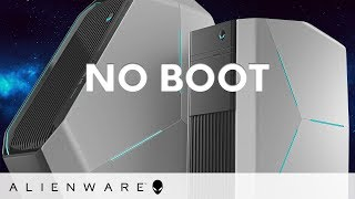 Alienware No boot and no bootable device detected