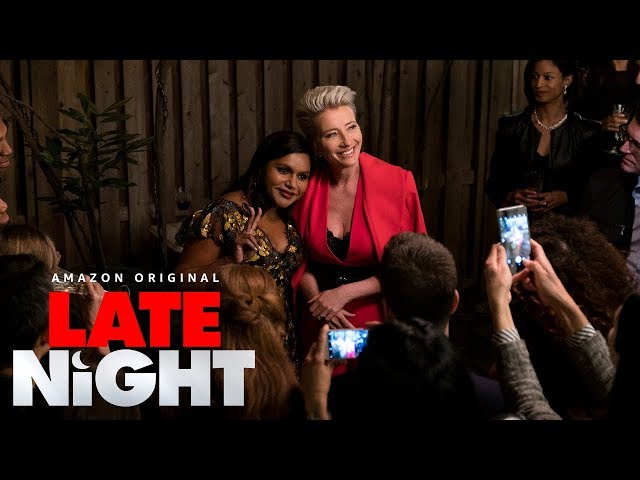 Late Night - Final Trailer | Amazon Studios