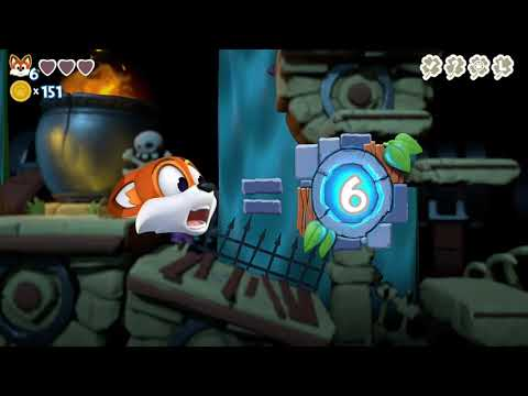 Super Lucky's Tale - Trying my luck in Golem Getaway (Xbox One)