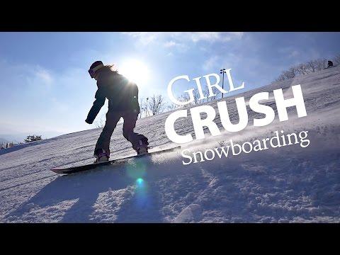 Girl Crush Rider - Sunny Lee Snowboarding 2017