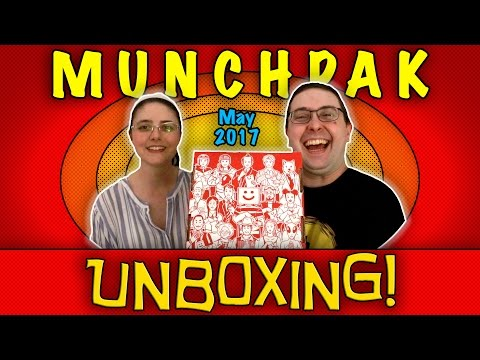 Thumbnail: UNBOXING! MunchPak May 2017 - Our FIRST one!! - Snack Subscription Box!