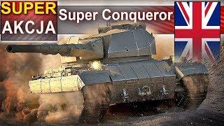 Super Conqueror - czy da się wygrać bez amunicji? - World of Tanks