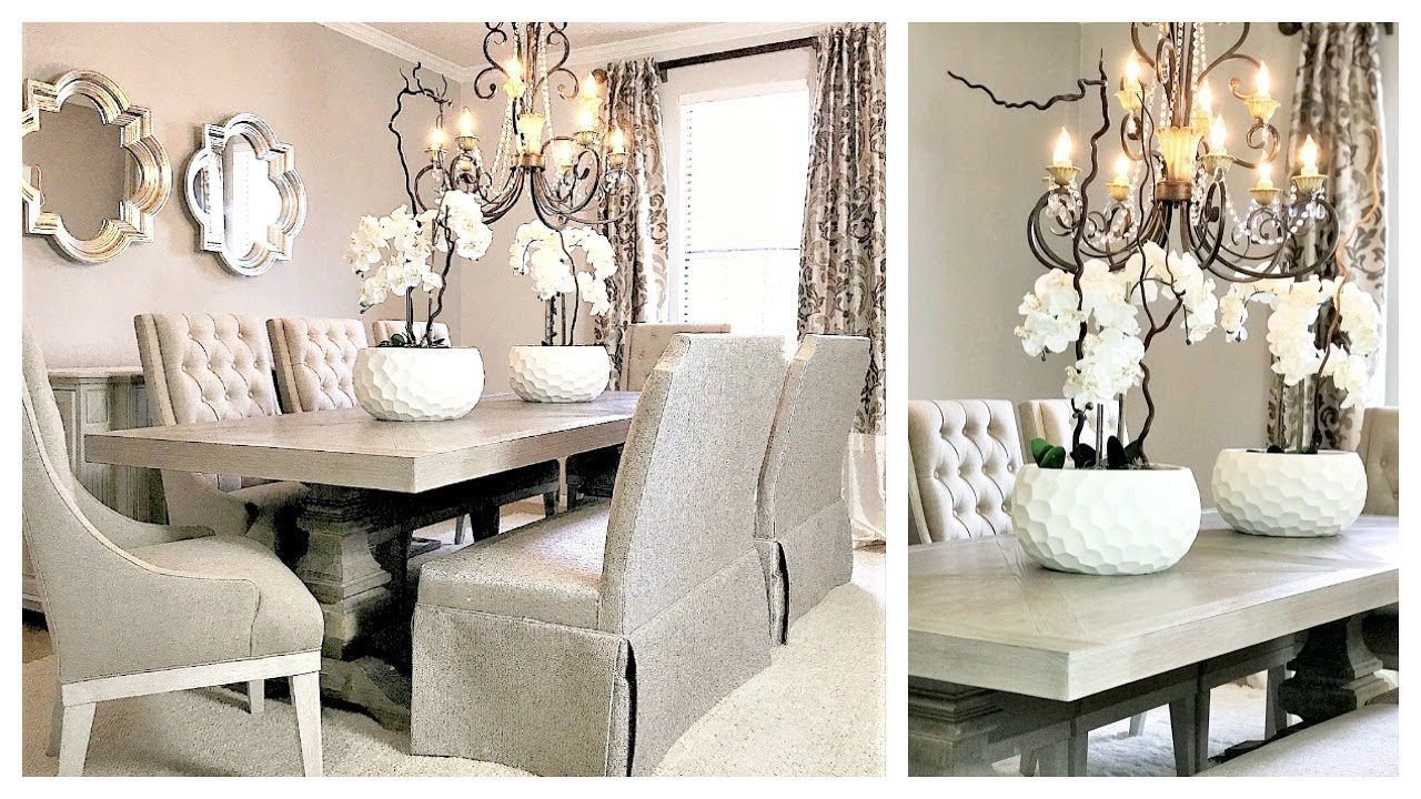 New Dining Room Makeover With American Signature Furniture Exciting News Youtube