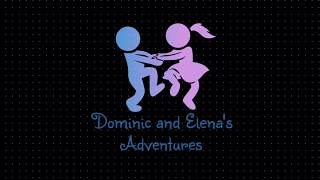 Dominic and Elena plays with toy animals, sea animals and farm animals