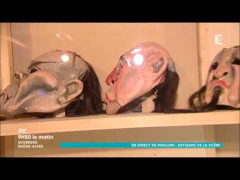 """France 3 - 9h50 le matin - Exposition """"Artisans de la scène"""" - 09/11/2017"""