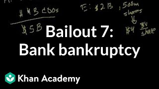 Bailout 7: Bank goes into bankruptcy
