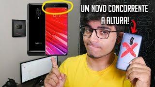 """Lenovo Z5 Pro - O Mi mix 3 """"baratinho"""" com muita tecnologia frente ao Pocophone f1!  😱😱"""