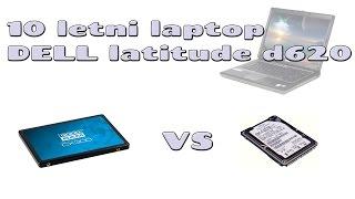 Dell latitude D620 HDD vs SSD Goodram