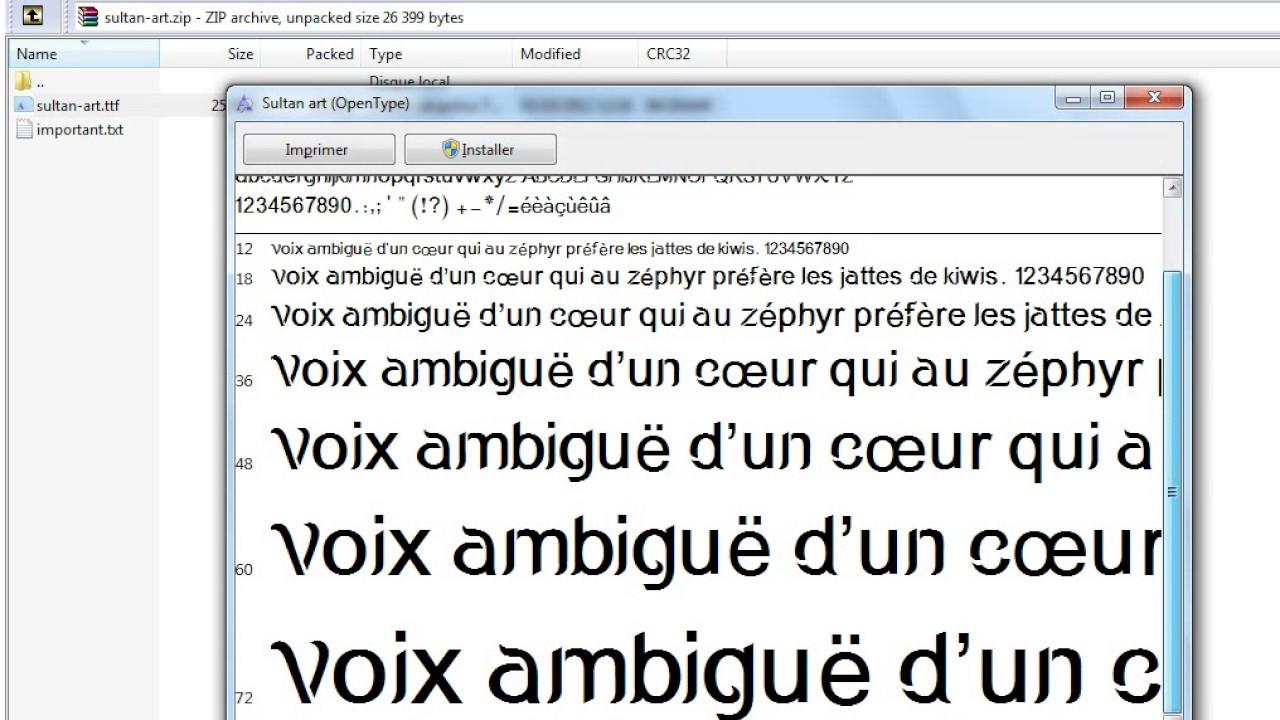 تحميل خطوط عربية لmicrosoft Office Word 2007 Youtube