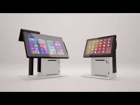 VariPOS 300 / 310 All-in-One POS Terminal / Self-Service Kiosk Ticket System