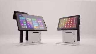 """Varipos 300 / 310 all-in-one pos terminal self-service ticket system with the availability of wi-fi and integrated quality 3"""" printer, varipos300/310 is de..."""