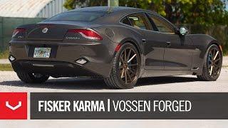 "Fisker Karma | ""Bronze Baby"" | Vossen Forged VPS-310 (4K)"