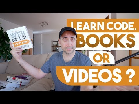 The Best Way To Learn Code - Books Or Videos?