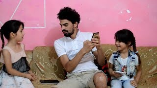 تحشيش اختي تريد الانترنت وراحت على الجيران طه البغدادي