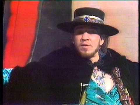 Stevie Ray Vaughan - rare 1986 NZ interview!