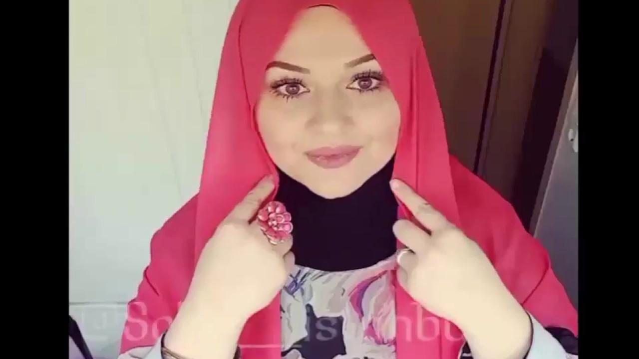 لفات حجاب لفات طرح 5 Hijab Style 2017