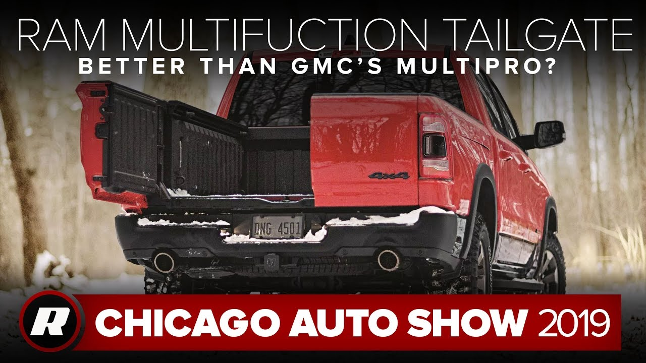 2019 Ram 1500 Multifunction tailgate is like French doors for your truck | Chicago 2019