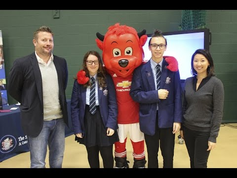 Manchester United group managing director Richard Arnold talks business - #SchoolsUnited