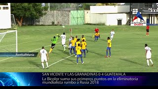 San Vicente vs. Guatemala - Fase de Grupos de la CONCACAF | Rusia 2018
