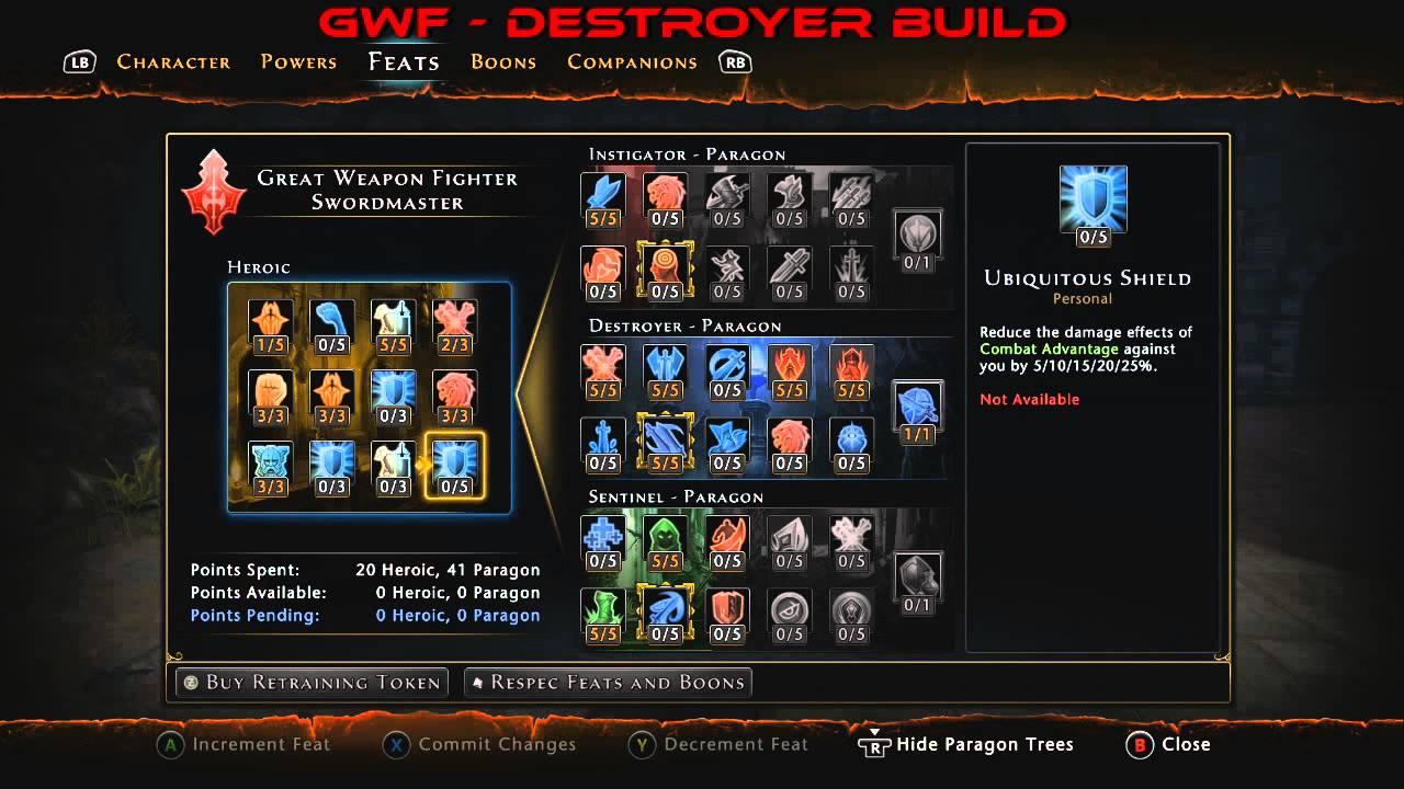 Gwf Dps Build
