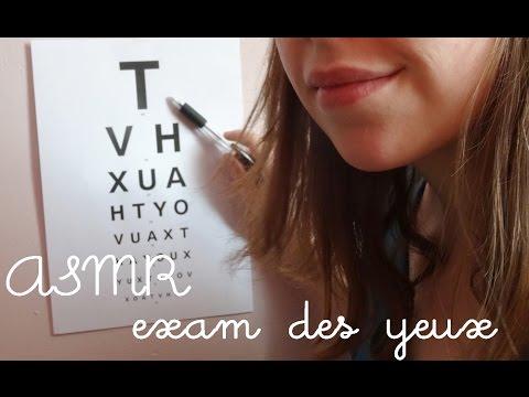 ⭐ [ROLE-PLAY] ASMR français : exam des yeux