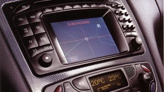 W203 Radio Removal and Comand Installation