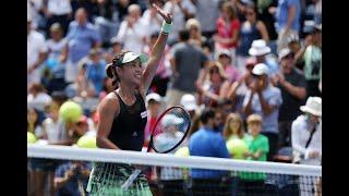 Qiang Wang vs. Ashleigh Barty | US Open 2019 R4 Highlights
